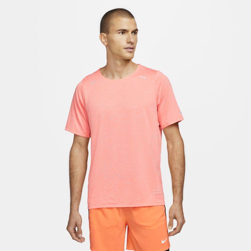 Nike Rise 365 Run Division Camiseta de running de manga corta - Hombre - Naranja