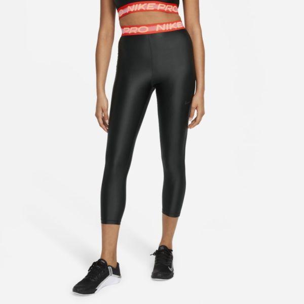 Nike Pro Leggings de 7/8 de talle alto - Mujer - Negro