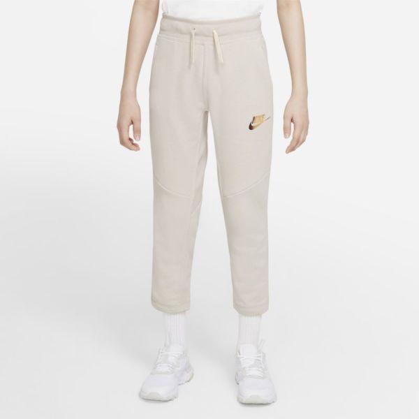 Nike Sportswear Pantalón de tejido Fleece - Niño - Gris
