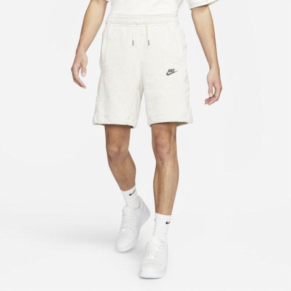 Nike Sportswear Pantalón corto de tejido Fleece - Hombre - Blanco