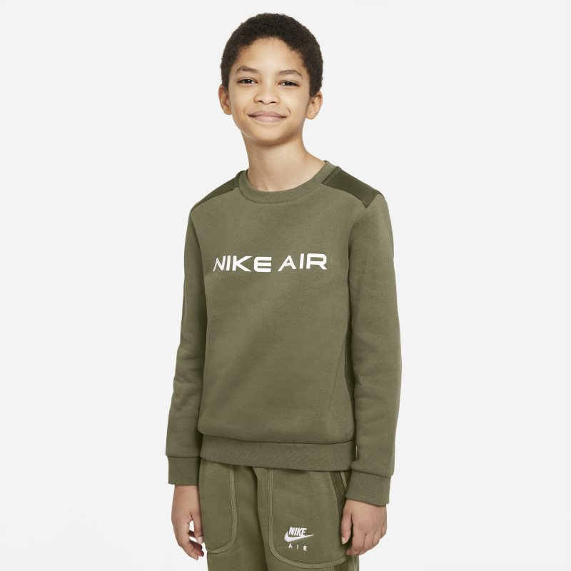 Nike Air Sudadera - Niño - Marrón