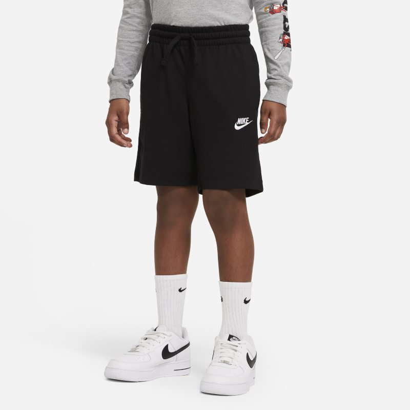 Nike Sportswear Pantalón corto de tejido de punto - Niño - Negro