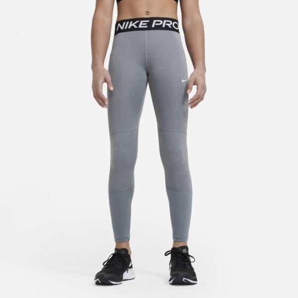 Nike Pro Leggings - Niña - Gris