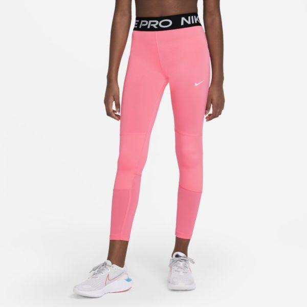 Nike Pro Leggings - Niña - Rosa