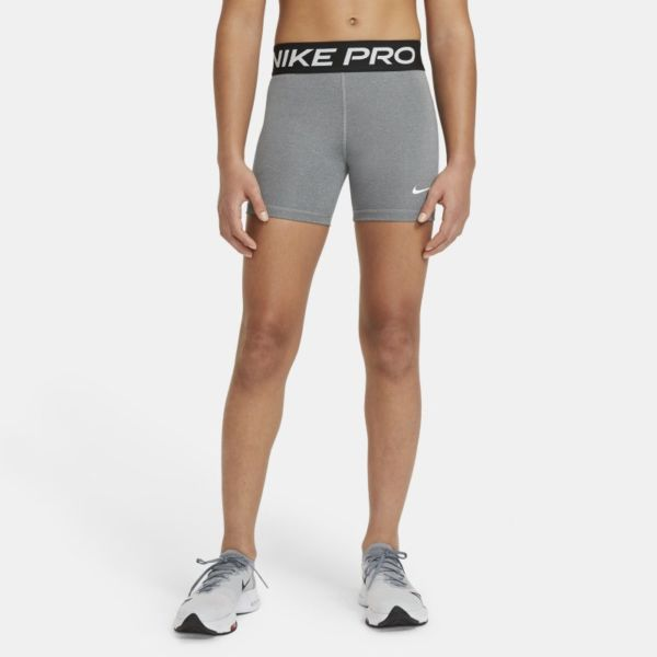 Nike Pro Pantalón corto - Niña - Gris