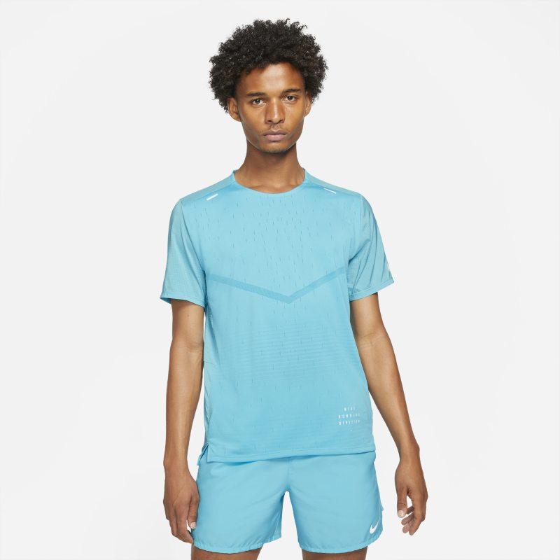 Nike Rise 365 Run Division Camiseta de running de manga corta - Hombre - Azul