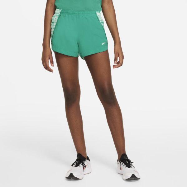 Nike Dri-FIT Sprinter Pantalón corto de running con estampado - Niña - Verde