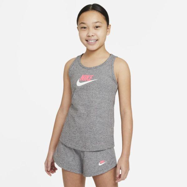 Nike Sportswear Camisetas de tirantes - Niña - Gris