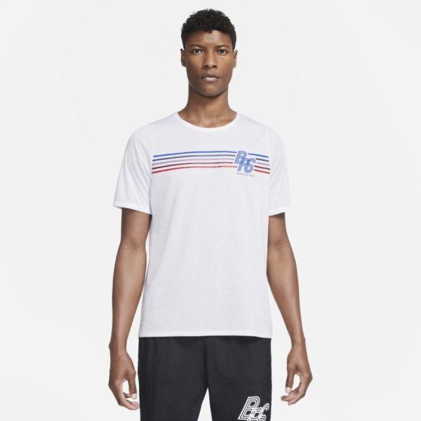 Nike Rise 365 BRS Camiseta de running de manga corta - Hombre - Blanco
