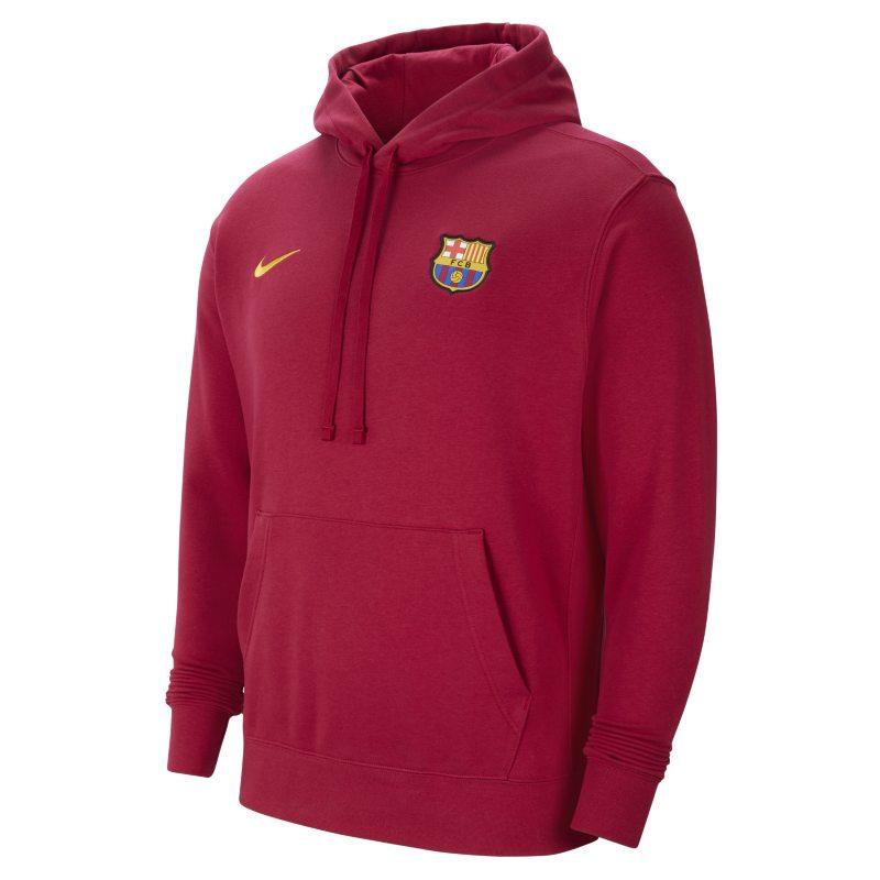 FC Barcelona Sudadera con capucha de tejido Fleece - Hombre - Rojo