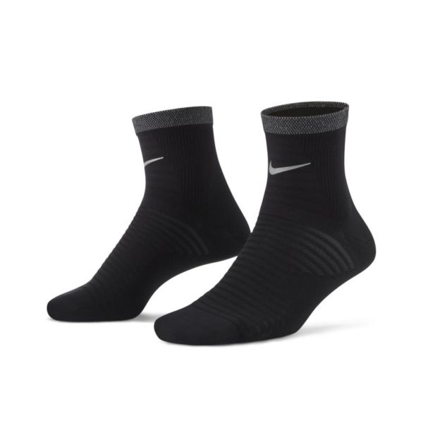 Nike Spark Lightweight Calcetines hasta el tobillo de running - Negro