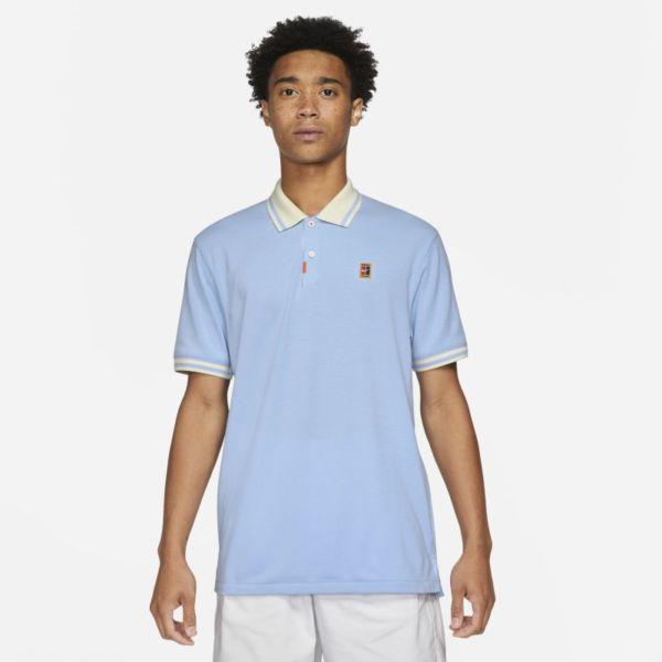 El polo Nike Polo de ajuste entallado - Hombre - Azul