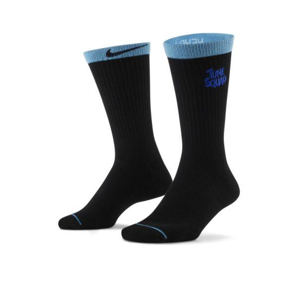 Nike x Space Jam: A New Legacy Calcetines largos de baloncesto (3pares) - Negro