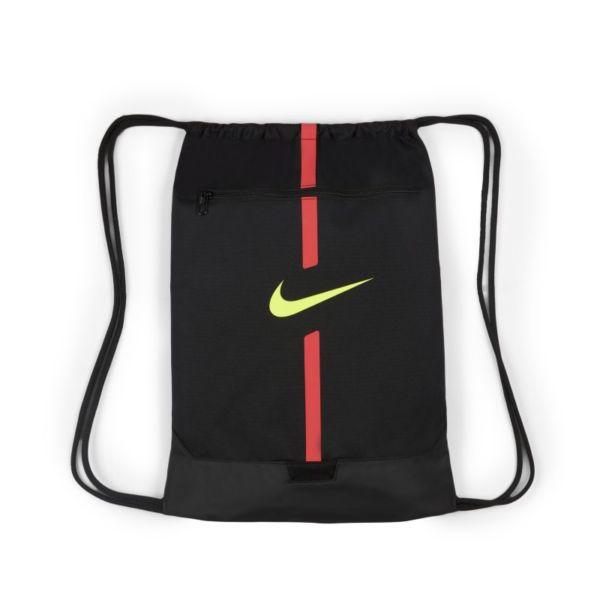 Nike Academy Saco de gimnasia de fútbol - Negro