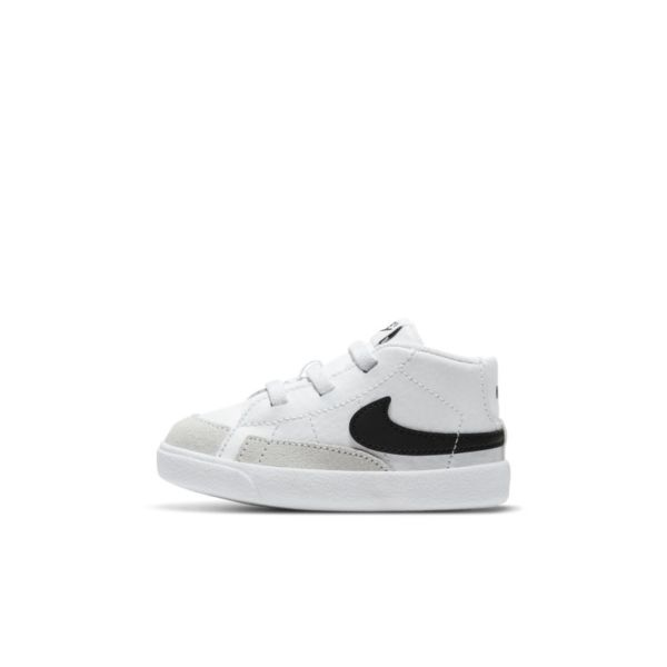 Nike Blazer Mid Botines - Bebé - Blanco