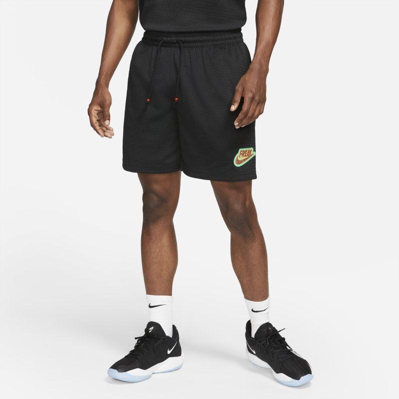 """Giannis """"Freak"""" Pantalón corto de baloncesto de malla - Hombre - Negro"""