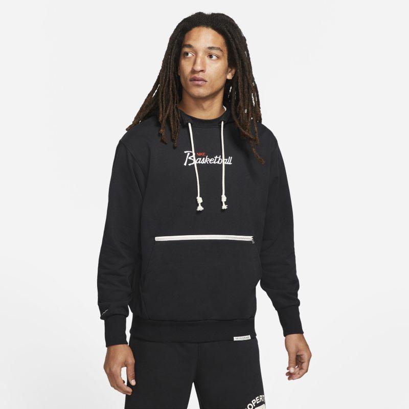 Nike Dri-FIT Standard Issue Sudadera con capucha de baloncesto - Hombre - Negro