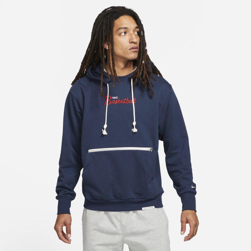 Nike Dri-FIT Standard Issue Sudadera con capucha de baloncesto - Hombre - Azul