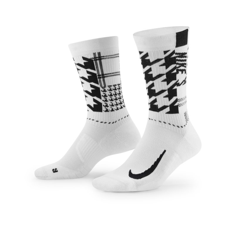 Nike Multiplier Calcetines largos de golf - Blanco