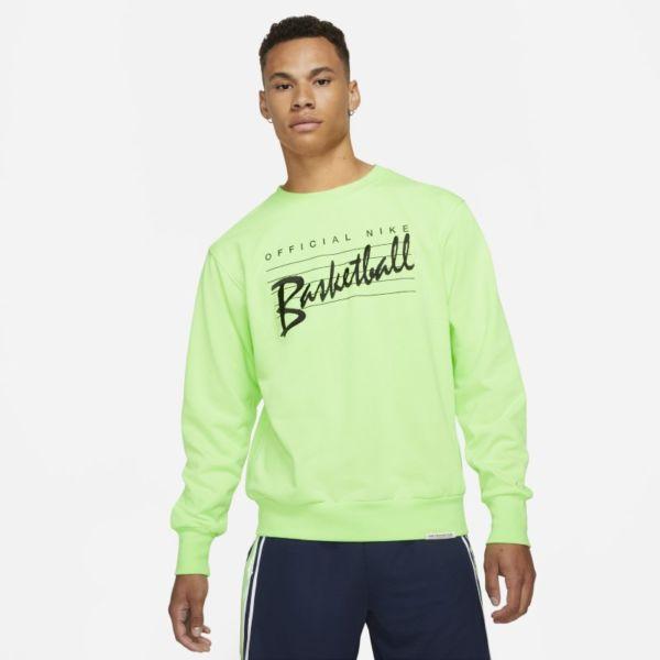 Nike Dri-FIT Standard Issue Sudadera de chándal de baloncesto - Hombre - Verde