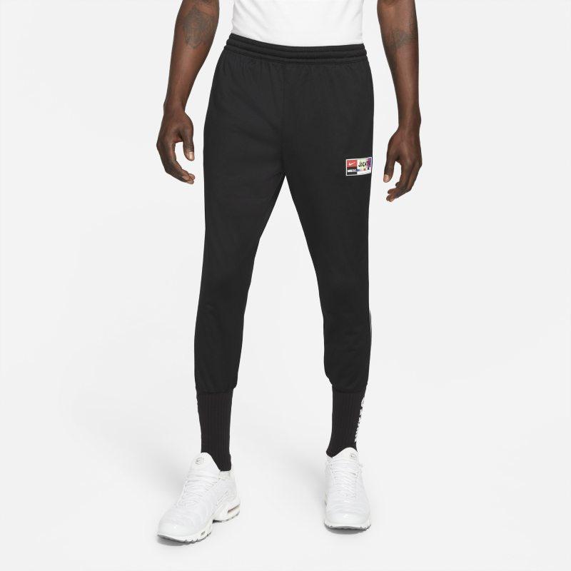 Nike F.C. Pantalón de fútbol de tejido Knit con bajos elásticos - Hombre - Negro