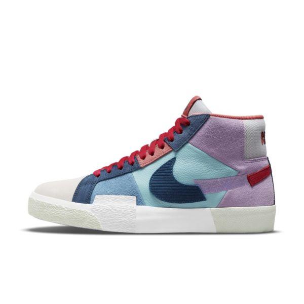 Nike SB Zoom Blazer Mid Premium Zapatillas de skateboard - Morado