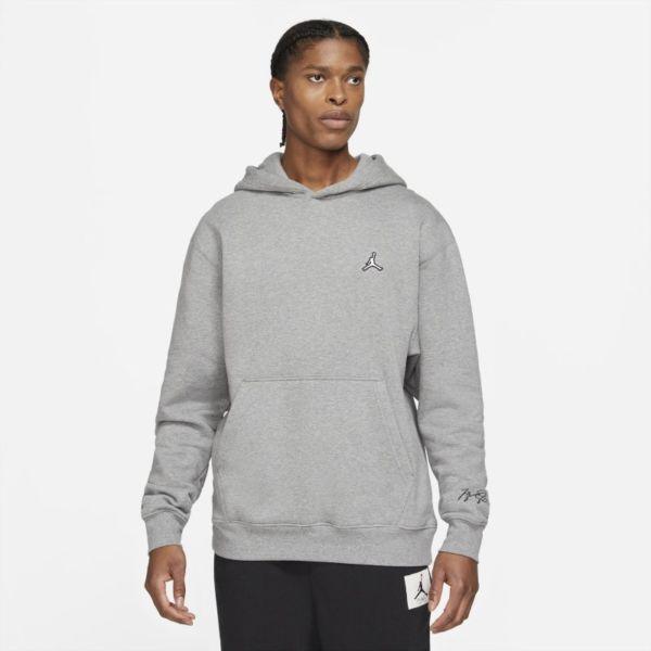 Jordan Essentials Sudadera con capucha de tejido Fleece - Hombre - Gris