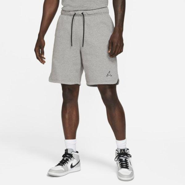Jordan Essentials Pantalón corto de tejido Fleece - Hombre - Gris