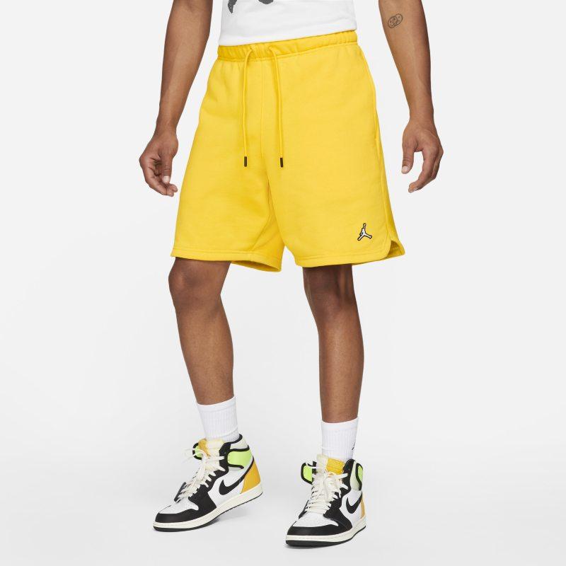 Jordan Essentials Pantalón corto de tejido Fleece - Hombre - Amarillo