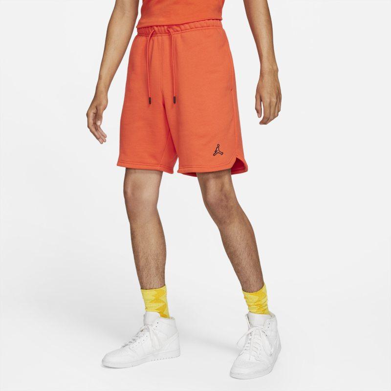 Jordan Essentials Pantalón corto de tejido Fleece - Hombre - Naranja