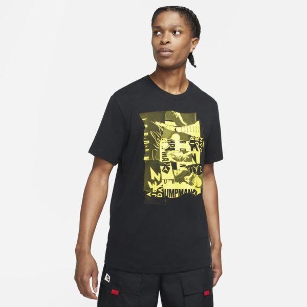 Jordan Jumpman Flight Camiseta de manga corta - Hombre - Negro