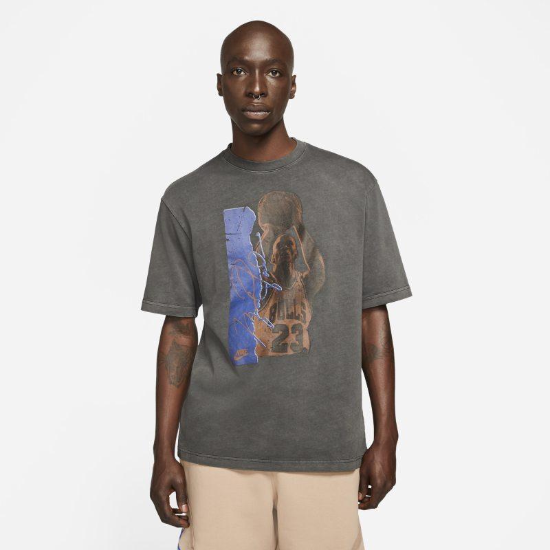 Jordan Flight Heritage85 Camiseta con estampado - Hombre - Negro