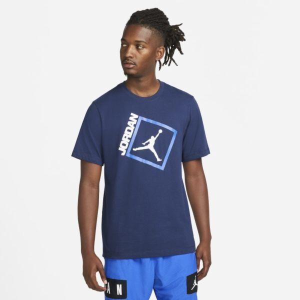 Jordan Jumpman Box Camiseta de manga corta - Hombre - Azul