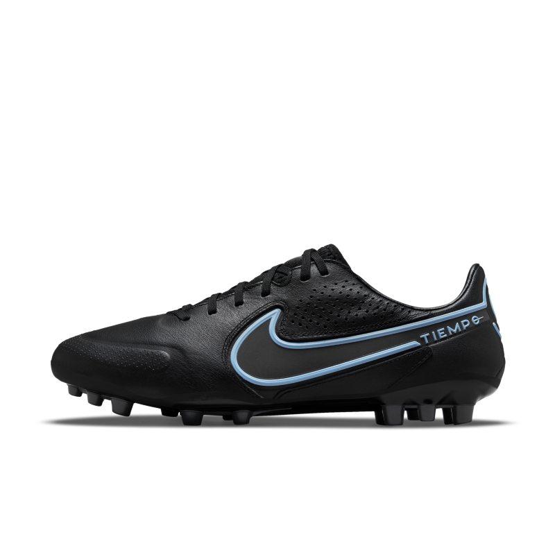 Nike Tiempo Legend 9 Pro AG-Pro Botas de fútbol para terreno artificial - Negro