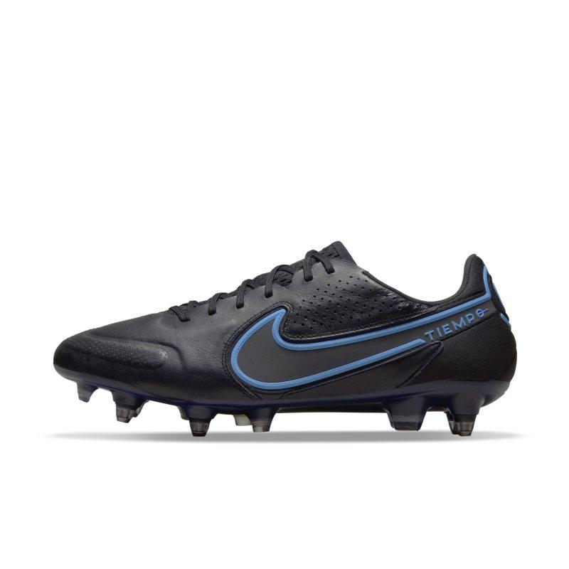Nike Tiempo Legend 9 Elite SG-Pro AC Botas de fútbol para terreno blando - Negro