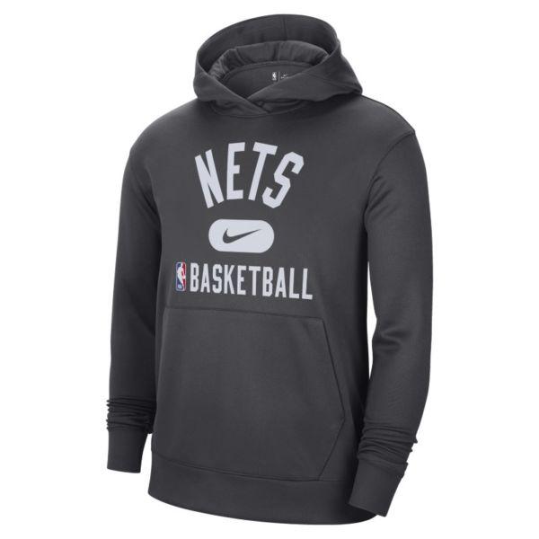 Brooklyn Nets Spotlight Sudadera con capucha Nike Dri-FIT NBA - Hombre - Negro