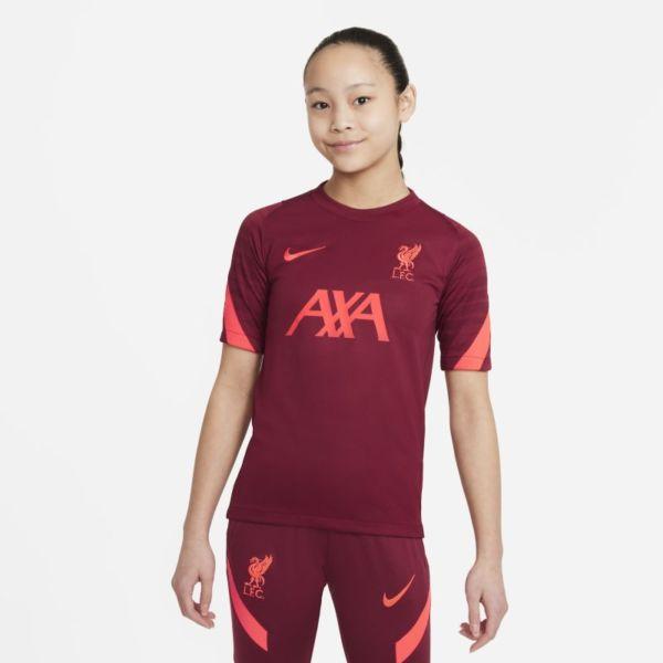 Strike Liverpool FC Camiseta de fútbol de manga corta - Niño/a - Rojo