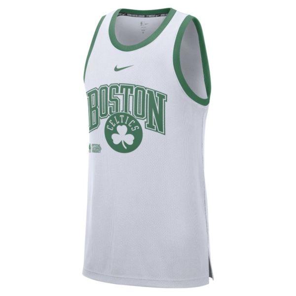 Boston Celtics Courtside Camiseta de tirantes Nike DNA NBA - Hombre - Blanco