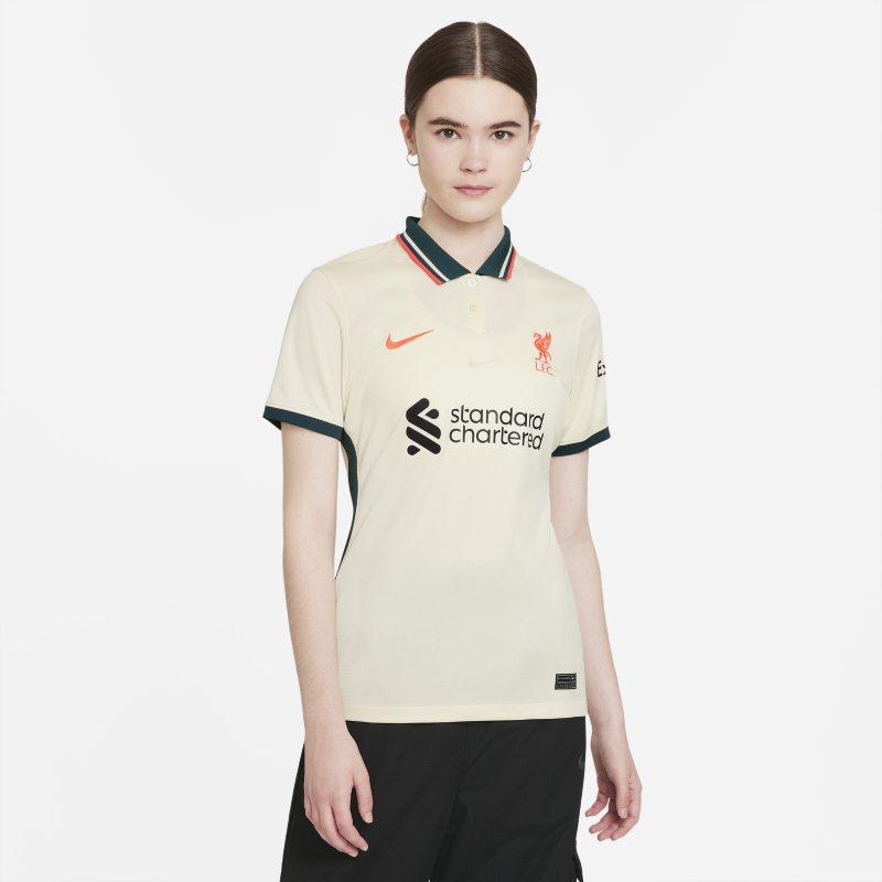 Segunda equipación Stadium Liverpool FC 2021/22 Camiseta de fútbol Nike Dri-FIT - Mujer - Marrón