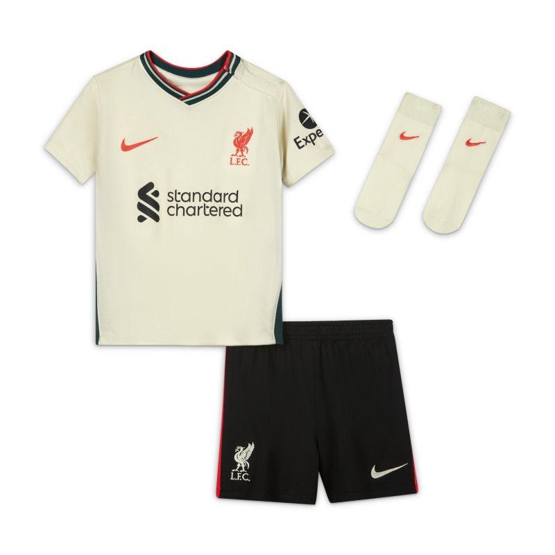 Segunda equipación Liverpool FC 2021/22 Equipación de fútbol - Bebé e infantil - Marrón