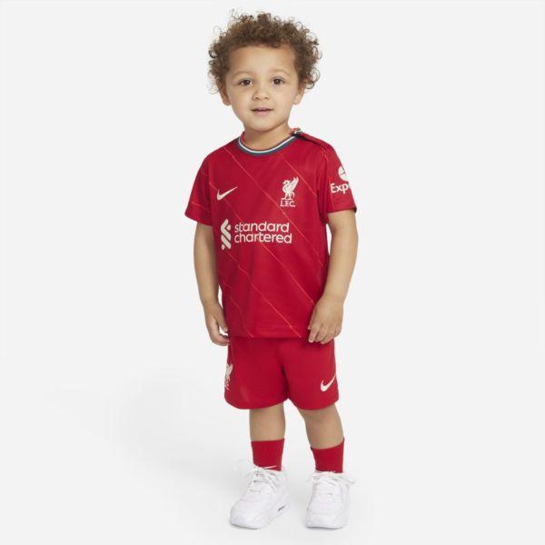Primera equipación Liverpool FC 2021/22 Equipación de fútbol - Bebé e infantil - Rojo