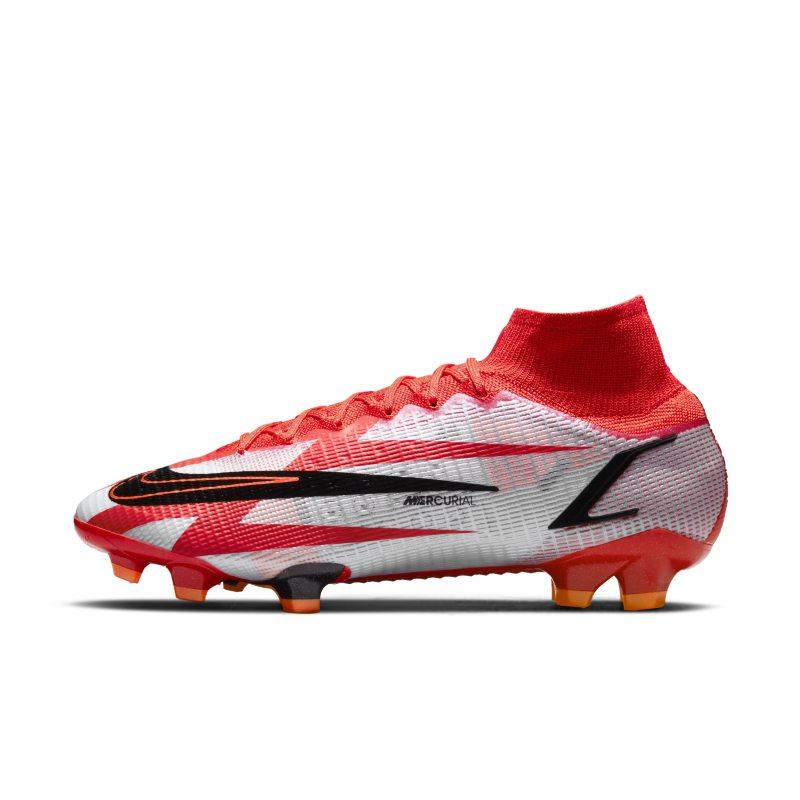 Nike Mercurial Superfly 8 Elite CR7 FG Botas de fútbol para terreno firme - Rojo
