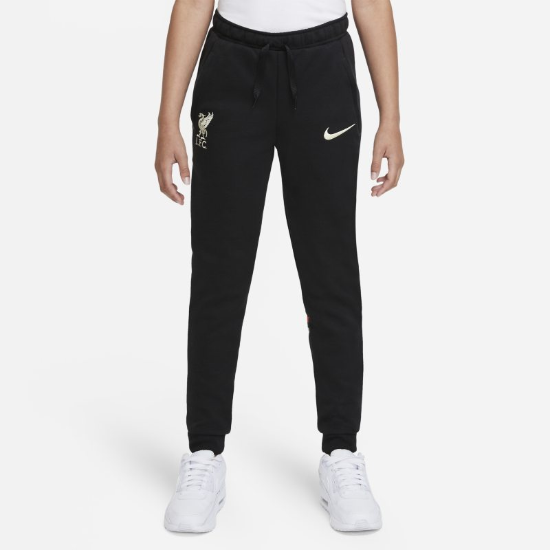 Liverpool FC Pantalón de fútbol Nike Dri-FIT - Niño/a - Negro