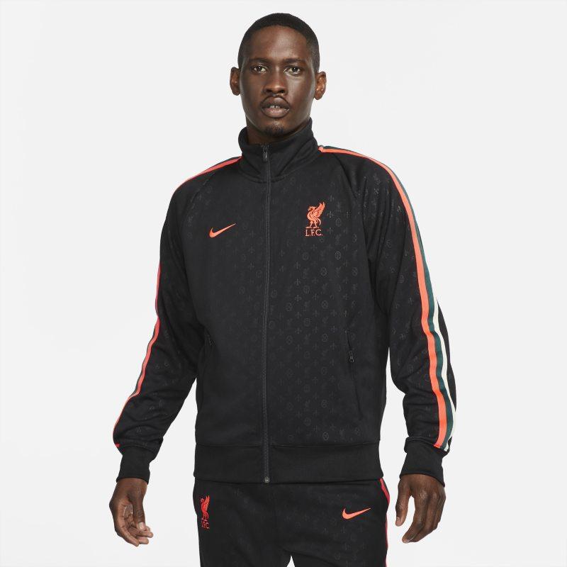 Liverpool FC N98 Chaqueta de tejido Knit - Hombre - Negro