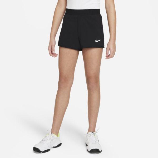 NikeCourt Dri-FIT Victory Pantalón corto de tenis - Niña - Negro