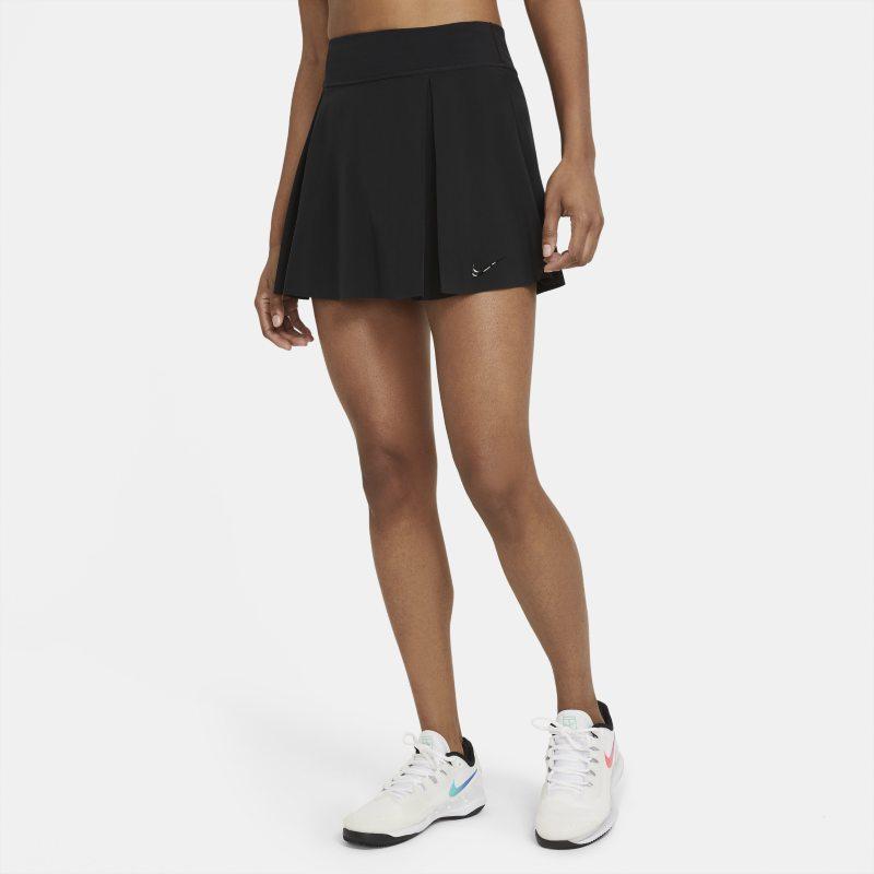 Nike Club Skirt Falda de tenis normal (Talla alta) - Mujer - Negro
