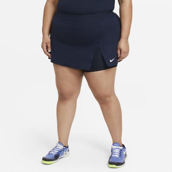 NikeCourt Victory Falda de tenis - Mujer - Azul