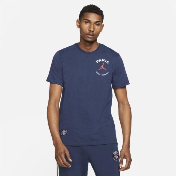 París Saint-Germain Camiseta con logotipo - Hombre - Azul