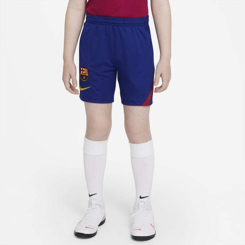 FC Barcelona Academy Pro Pantalón corto de fútbol Nike Dri-FIT - Niño/a - Azul