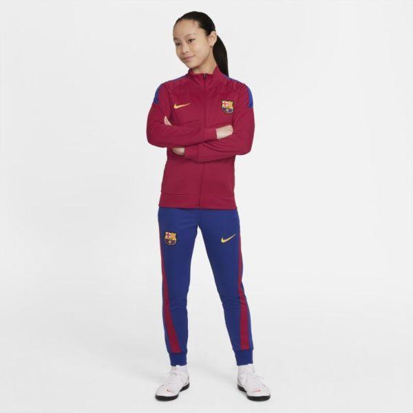 FC Barcelona Academy Pro Chándal de fútbol Nike Dri-FIT - Niño/a - Rojo